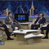 "Debatendo crise e impeachment  no programa ""Todo Seu"" da TV Gazeta"
