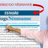 No Blog do Nêumanne no Estadão: Covarde e mentirosa