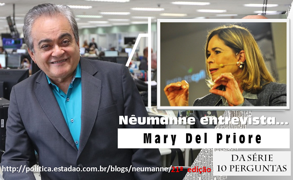 No Blog: Nêumanne entrevista Mary Del Priore