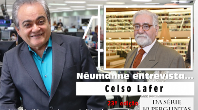 No Blog: Nêumanne entrevista Celso Lafer