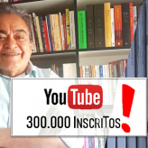 Nêumanne agradece: Youtube 300 mil inscritos!